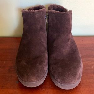 Fitflop Shearling Ankle Boot 7.5
